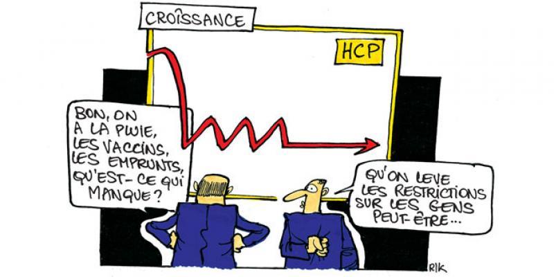 Croissance: La trajectoire sera encore dictée par l'épidémie