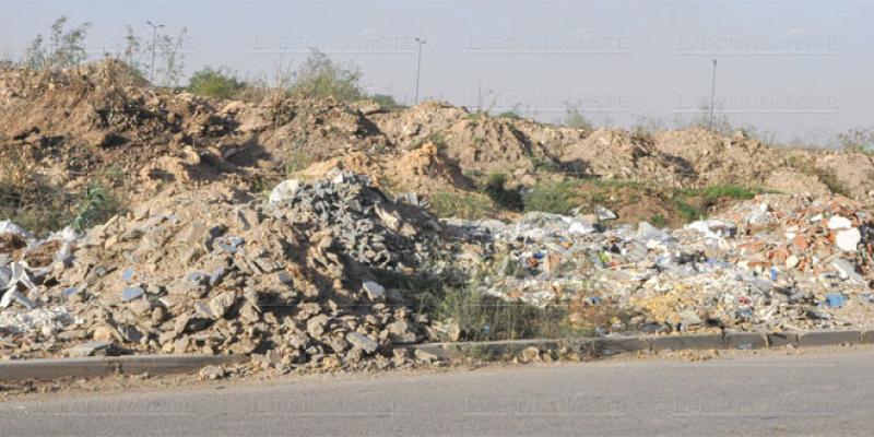 Casablanca: Les déchets de chantier dans le collimateur