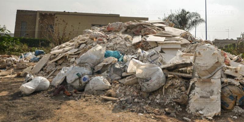 Casablanca: Les déchets inertes confiés à une SDL