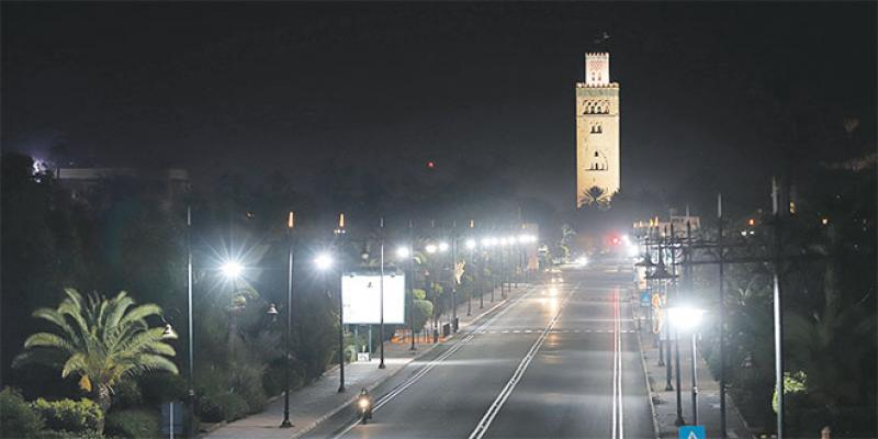 Marrakech: Eclairage festif pour la Koutoubia