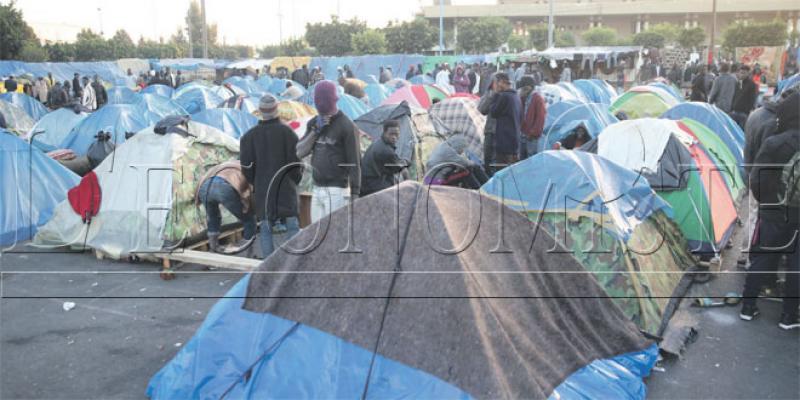 Migrants subsahariens: A Ouled Ziane, la situation au bord du chaos