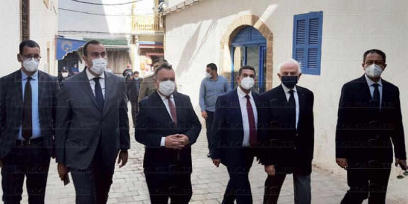 Enseignement: Salve de projets à Essaouira