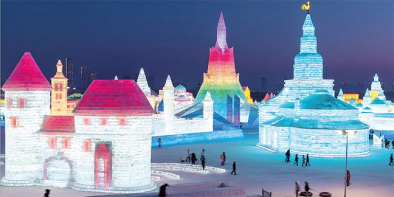 Une fête de la glace sous le signe des routes de la soie