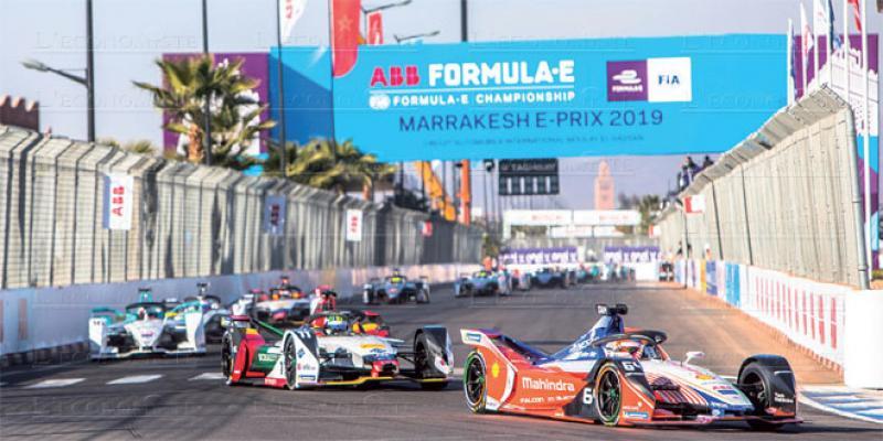 La formule E de retour à Marrakech