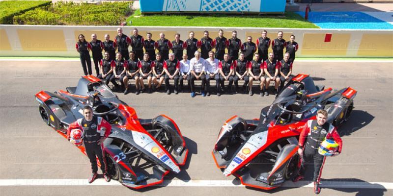 Formule E: Marrakech, course d'apprentissage pour Nissan