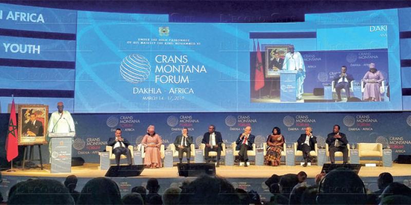 Forum Crans Montana: L'Afrique doit bâtir l'avenir de sa jeunesse