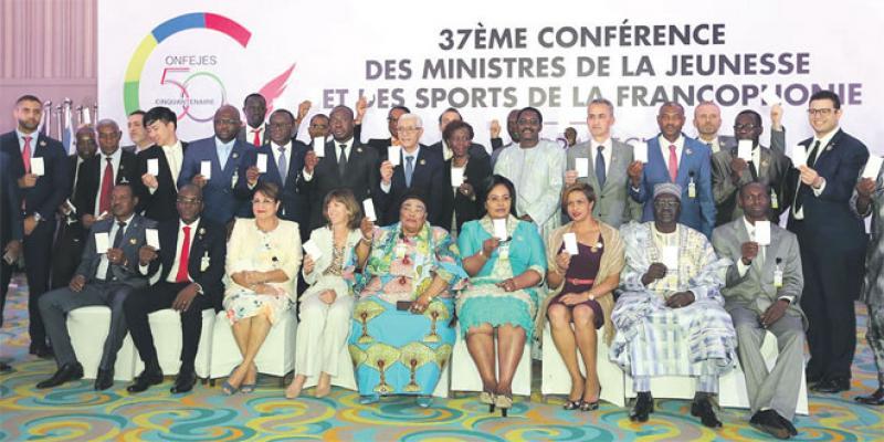 Francophonie: Les «bonnes intentions» des ministres de la Jeunesse et des Sports