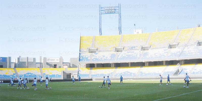 Tanger: L'extension du Grand stade lancée