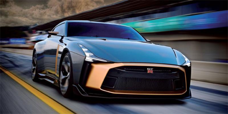GT-R 50: Nissan réinvente sa supercar cinquantenaire