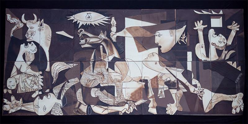 Un «Guernica» en… chocolat
