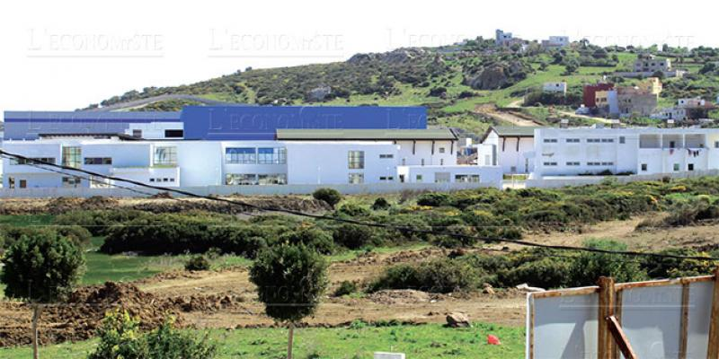 Gzenaya, future banlieue industrielle de Tanger