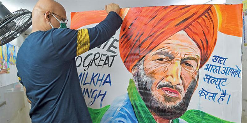 Inde: Milkha Singh, l'un des sportifs les plus célèbres du pays, décède du Covid
