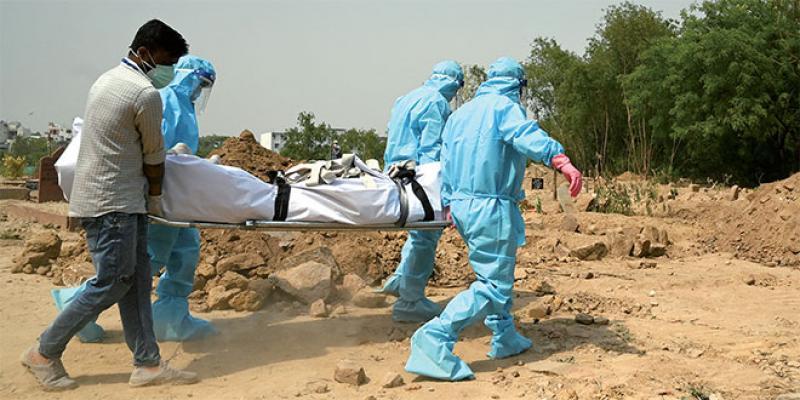 L'Inde submergée par l'épidémie!