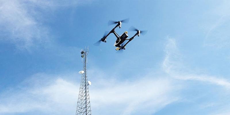 Inspection par drone: Une TPE a pu se faire un chemin vers le green tech