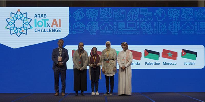 Arab IoT & AI Challenge: des étudiantes de l'INPT s'adjugent la 2ème place