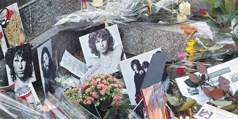 Le Marais, les quais... le Paris de Jim Morrison
