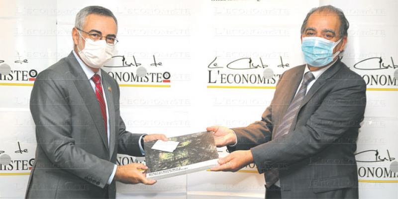 L'Ambassadeur du Brésil en visite à Eco-Médias