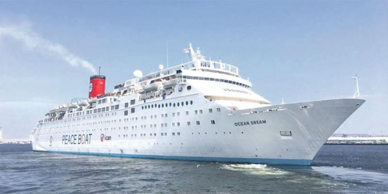 Le Peace Boat fait escale à Tanger