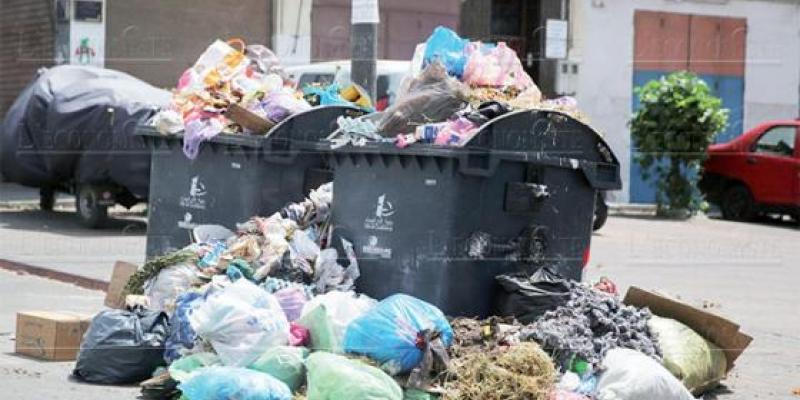 Casablanca: Tonnage record de déchets!