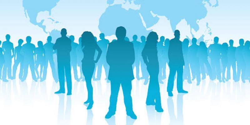 Population en âge d'activité: La moitié hors du marché du travail