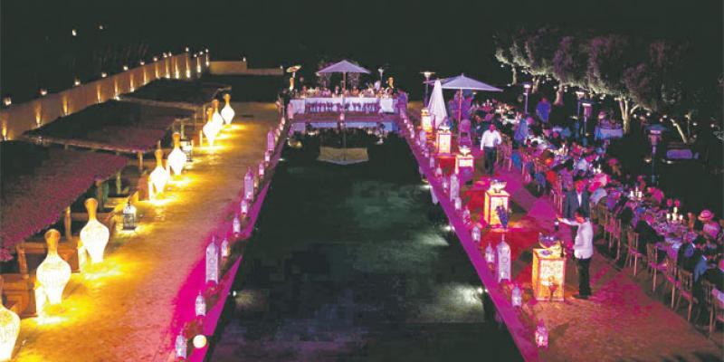 Marrakech, destination des mariages VIP