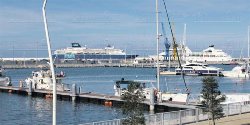 Tanger: L'extension de la Marina en chantier