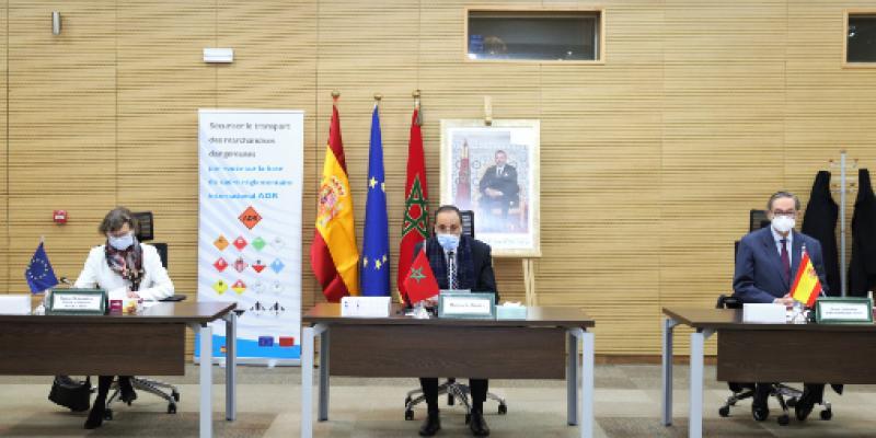 Maroc-Espagne: contrat pour sécuriser le transport des marchandises dangereuses