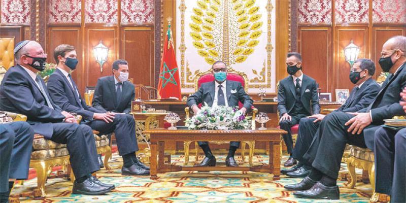 Maroc-Israël Premier vol, premières affaires