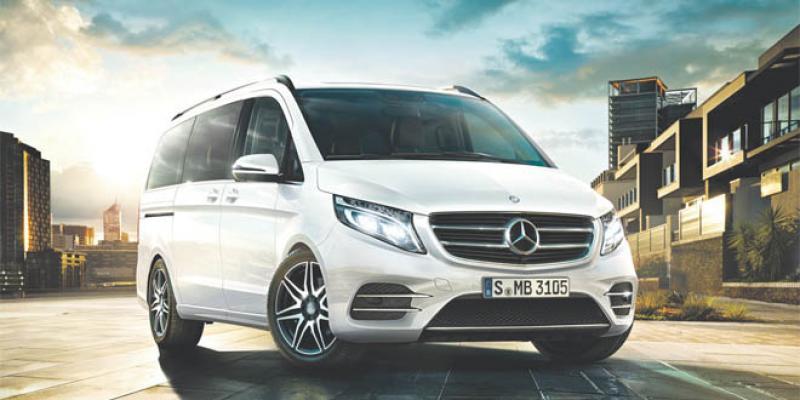 Mercedes Class V: Un van pour VIP