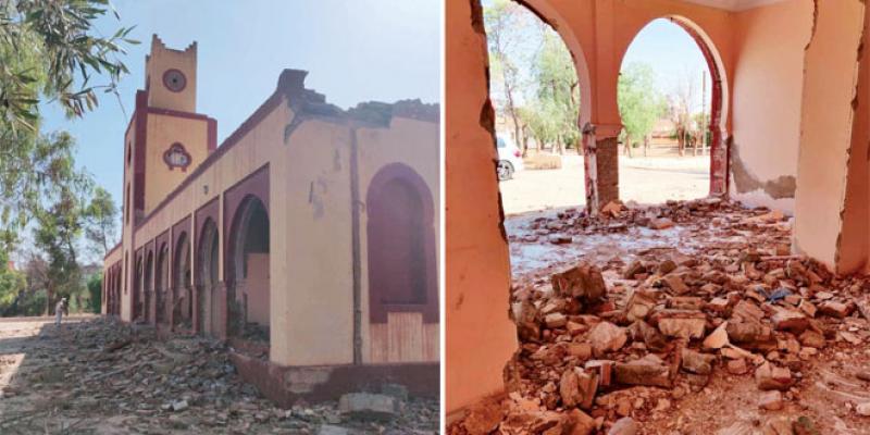 Oujda: Un vestige historique vandalisé