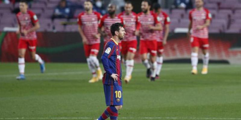 Le FC Barcelone humilié chez lui par Grenade
