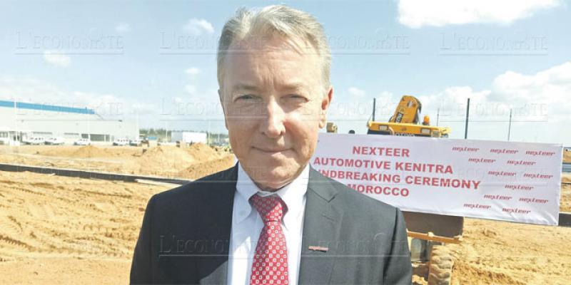 Mike Richardson, président du groupe Nexteer Automotive: «Nous avons suivi nos clients pour mieux les servir»