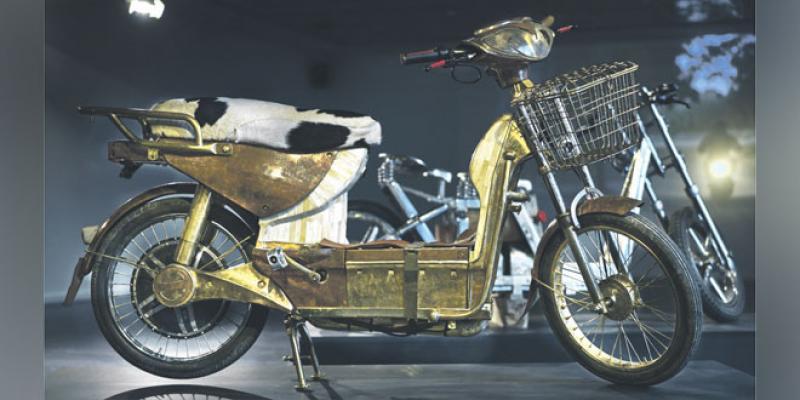 Mahjouba: La moto made in Maroc qui désenclave l'art