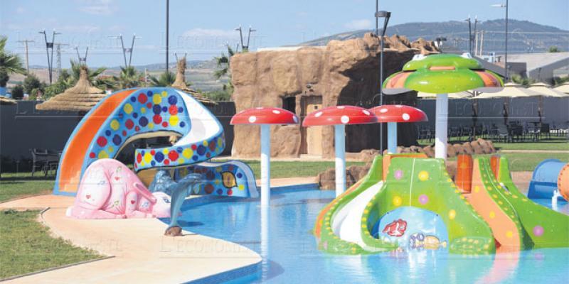 Moulay Yacoub: Le parc d'attractions aquatiques opérationnel