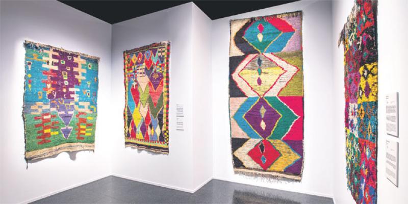 Musée Yves Saint Laurent Marrakech: «Desert Design» rétablit la vérité sur les tapis nomades