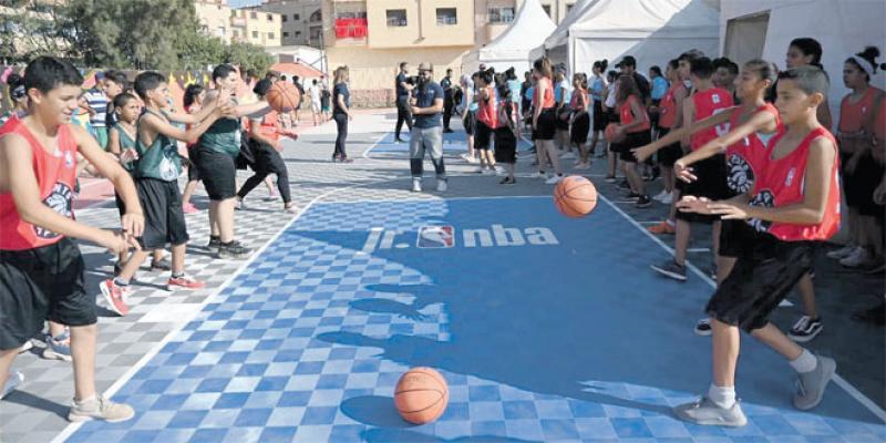 Une mini NBA pour les juniors marocains