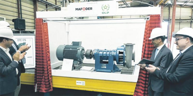 L'OCP produit une pompe centrifuge