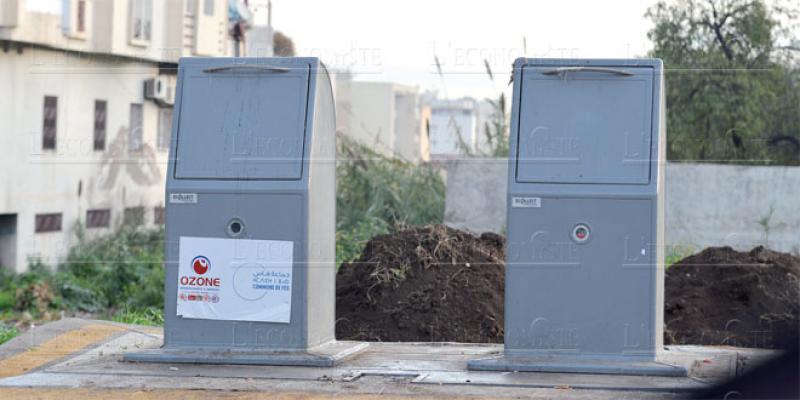 Fès/Ramassage des ordures: Ozone généralise l'expérience des bacs «enterrés»