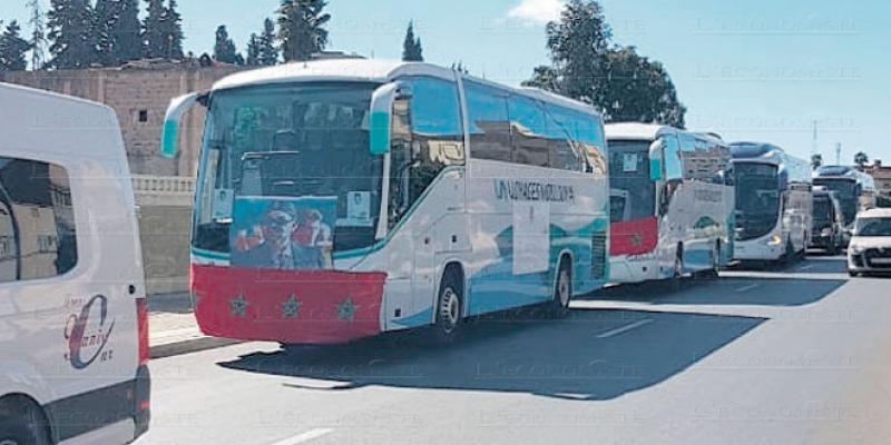 Oriental: La grogne des transporteurs touristiques
