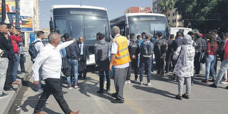 Oujda: Le calvaire du transport urbain