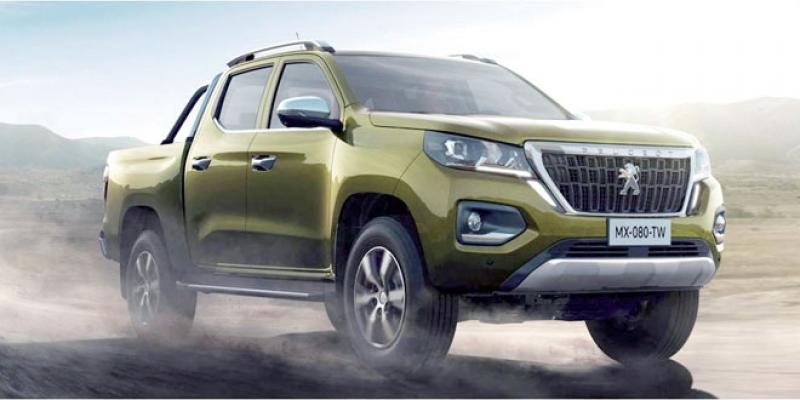 Peugeot retente l'aventure pick-up