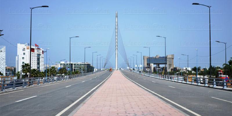 Pont à haubans de Sidi Maârouf: Ouverture imminente