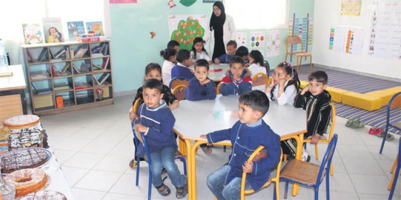 Préscolaire: De nouvelles écoles pour la Fondation Zakoura