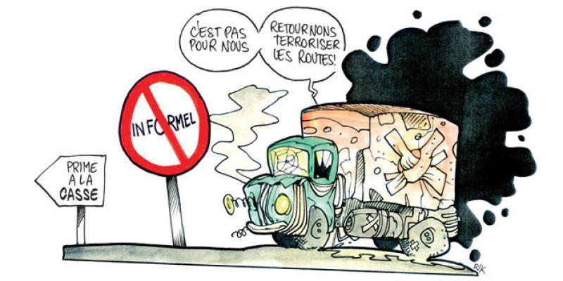Fret routier: Le guichet de la prime à la casse ouvert