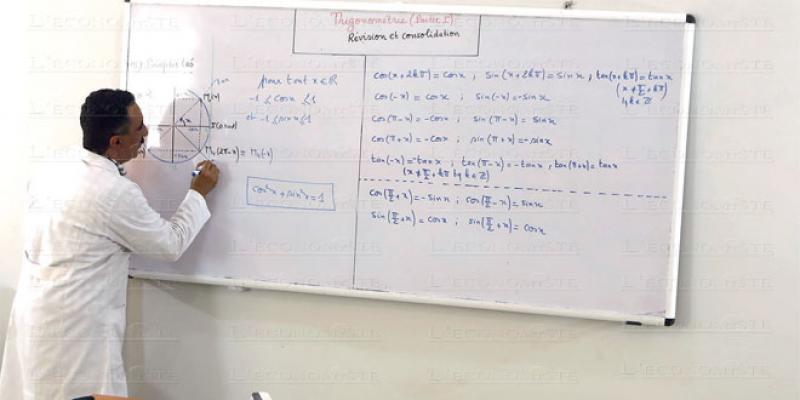 Les profs marocains moins qualifiés que la moyenne