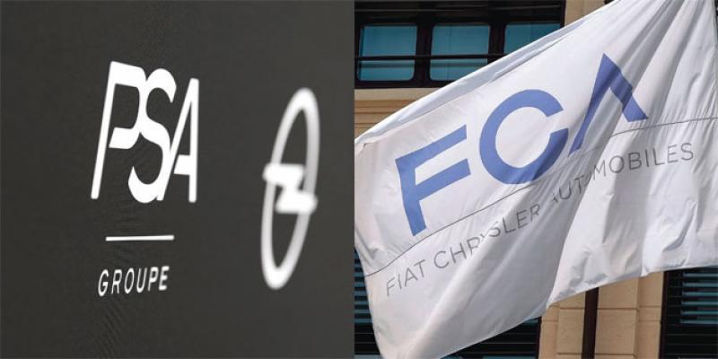 PSA et Fiat-Chrysler: Les ingrédients d'un futur géant mondial