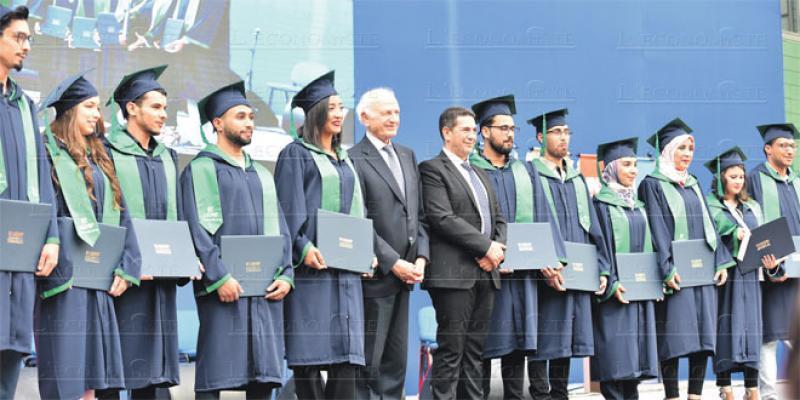 Des pointures pour la remise des 1ers diplômes de l'UEMF