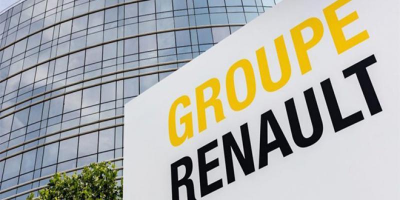 Renault: chute des ventes mondiales du groupe français