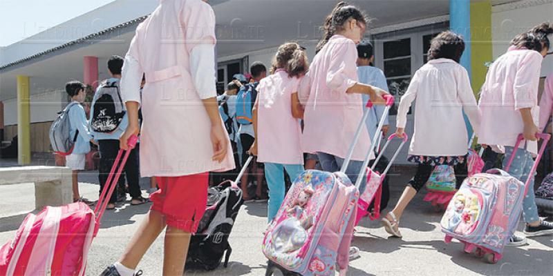 Rentrée scolaire: Le ministère prépare les nouveaux calendriers