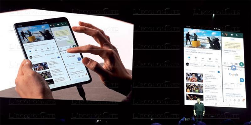 Samsung ose le smartphone pliable